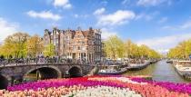 Майски празници 2020 в Холандия - красива цветна картичка