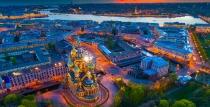 Екскурзия до Москва и Санкт Петербург с включени обяди и вечери - с полет от София